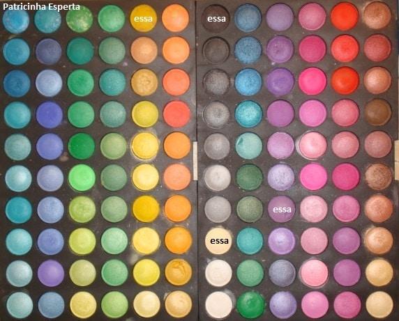 120A1 - Maquiagem Colorida para o Outono (Mostarda e Uva)