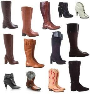 botas de cano alto inverno 4 287x300 - Os sapatos do inverno 2012