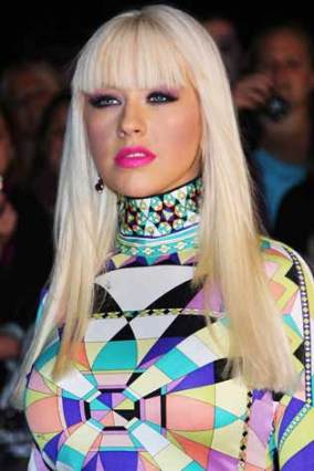 christina aguilera cabelo 09g - Qual o seu estilo de franja?