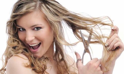 cortar cabelo crescer forte - Pontas Duplas: Como Evitar e Como Tratar - Parte 1