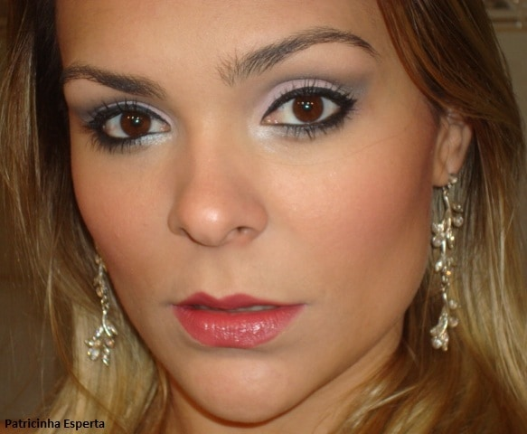 015post - Maquiagem Rosa Suave e Chumbo