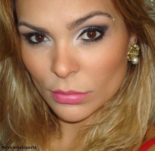 022..post  - Maquiagem Fácil e Rápida para a Noite - Preta