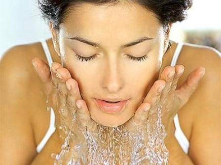lavar rosto - Água termal!