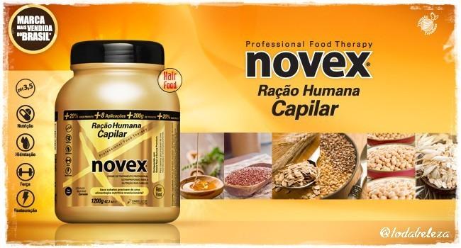 novex - Novex - Ração Humana Capilar!