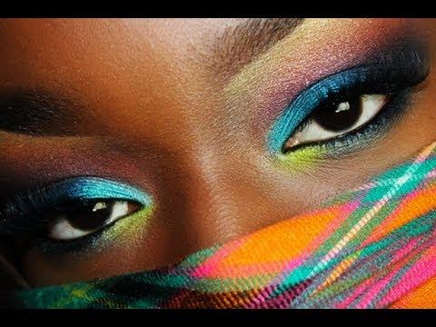 Sombras para pele negra - Como Maquiar Peles Negras – Sombras, Batons e Blush