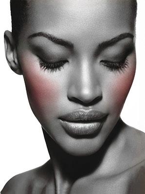 blush para pele negra - Como Maquiar Peles Negras – Sombras, Batons e Blush