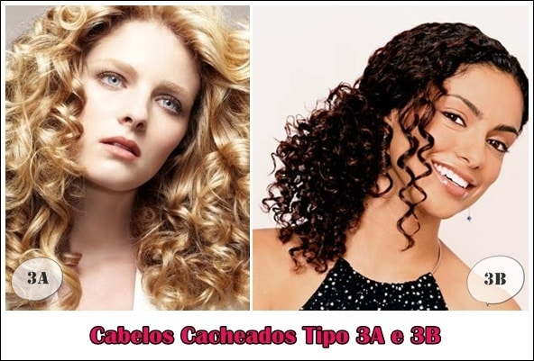 cabelos cacheados tipo 3a e 3b modelos - Cabelos Cacheados (Tipo 3a e 3b) – Tratamentos, Dicas e Cuidados