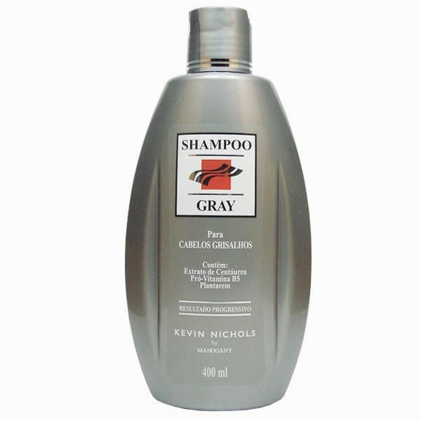 shampoo cabelos grisalhos gray - Dica para as Loiras: Shampoo Gray Mahogany