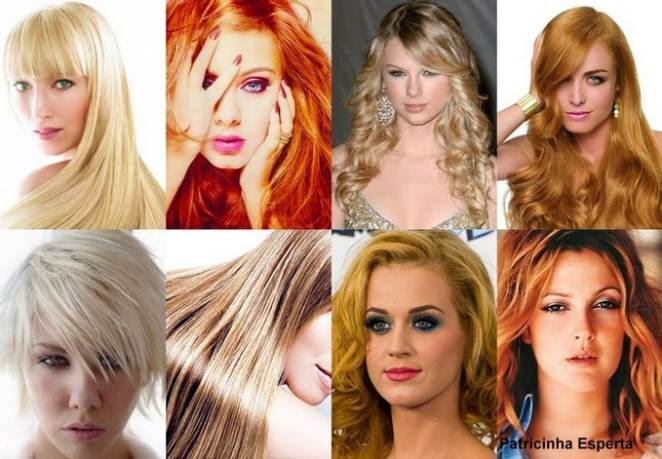 cabelos - Porque as loiras detestam os tons alaranjados/acobreados