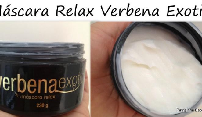 2012 10 305 - Máscara Relax Verbena Exotic - Ruggero