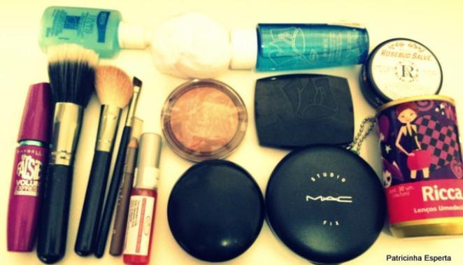 IMG 1302 - O Que Não Falta no Meu Nécessaire de Maquiagem