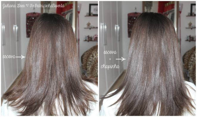 juliana goes liso - Cabelo Super Liso com Redken Smooth Down Heat Glide
