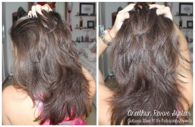 juliana goes cabelo - Xô Cabelo Desbotado com Aneethun Revive System