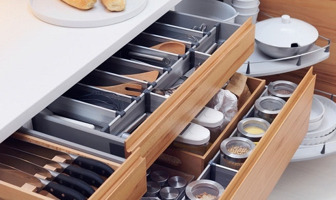 organizar armarios - Dez dicas para organizar seus armários e gavetas!