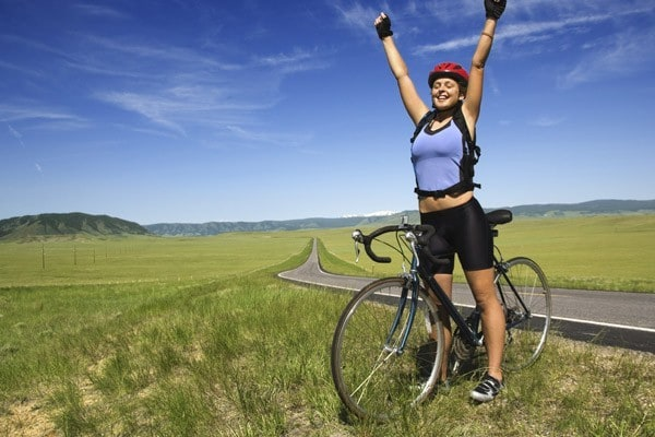 como usar a bicicleta para perder peso