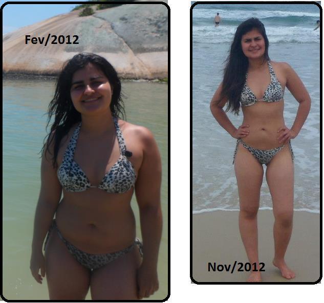 secou 14 quilos - Saiba como ela secou 14 kg em 4 meses e faça igual!