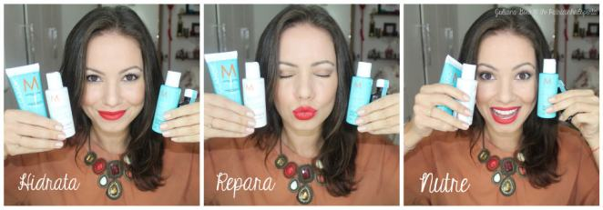 juliana goes moroccanoil repair - Testei! Moroccanoil Moisture Repair e Óleo Light