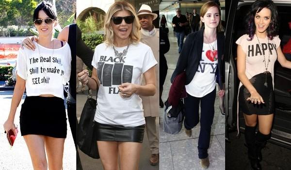 T shirts - Já escolheu a T-shirt que mais combina com você?