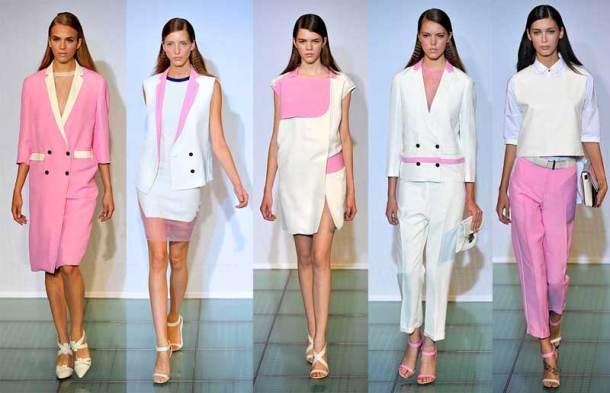 reveillon rosa e branco - A cor rosa continua em alta?