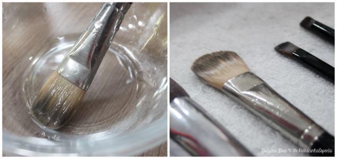 secando pinceis - Como Lavar e Higienizar seus Pincéis?
