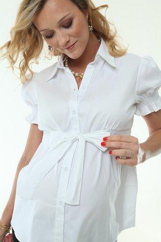 blusa - Moda para gestante: o que usar para se sentir bela e confortável?