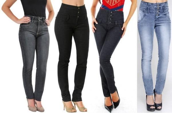 jeans cintura alta 600x396 - Aposte no jeans!