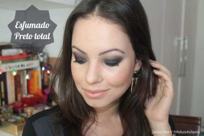 Juliana Goes - Smokey Eye sem Mistério | Maquiagem para Noite