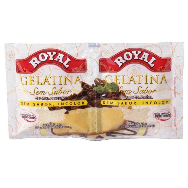 283854 Gelatina Royal Incolor Sem Sabor 24g - Receita caseira para cabelos cacheados de diva já!