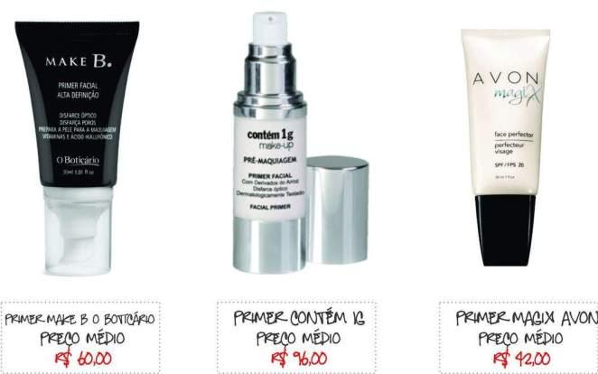 PRIMER FACIAL 1 - Primer: o produto queridinho dos maquiadores!