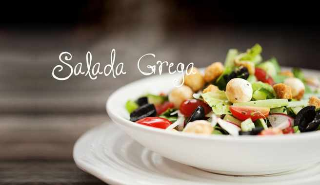 Salada Grega - Menu de Verão: salada tem tudo a ver com a estação