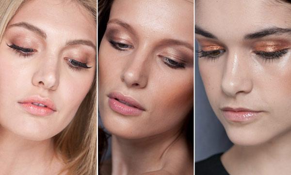 marrom - Makes que bombaram no Fashion Rio