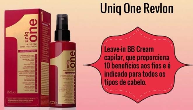 uniq one - 6 Leave-Ins Pra Comprar Já!
