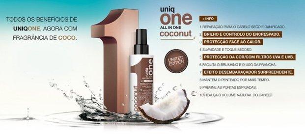 uniq one coconut - Revlon Uniq One Resenha Completa