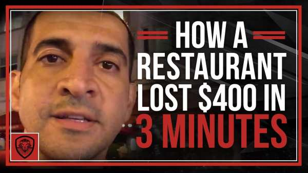 How a Restaurant Lost $400 in 3 Minutes - Patrick Bet-David