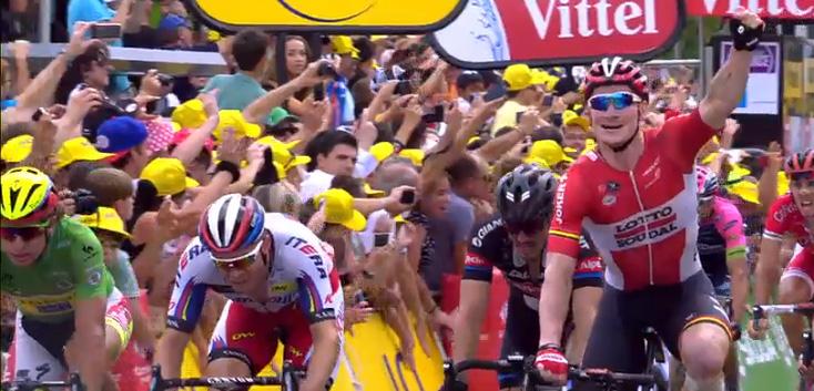 Derde etappezege André Greipel | Tour de France 2015