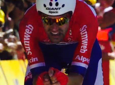 Tom Dumoulin wint tijdrit   Tour de France 2016