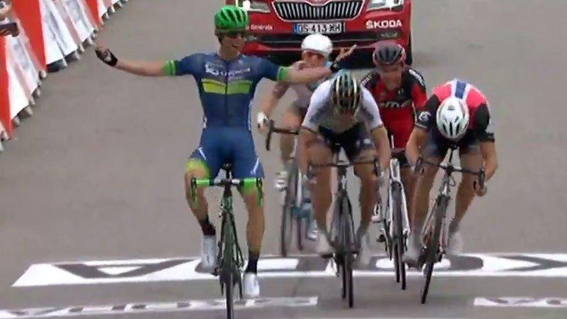 Matthews verslaat Sagan, Boasson Hagen en Van Avermaet in Tour