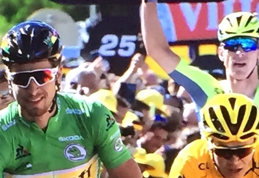 Peter Sagan en Chris Froome