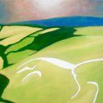 Sunrise At White Horse Hill Patrick Cannon Art