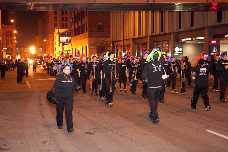 Saint Paul Winter Carnival Torchlight Parade 2012