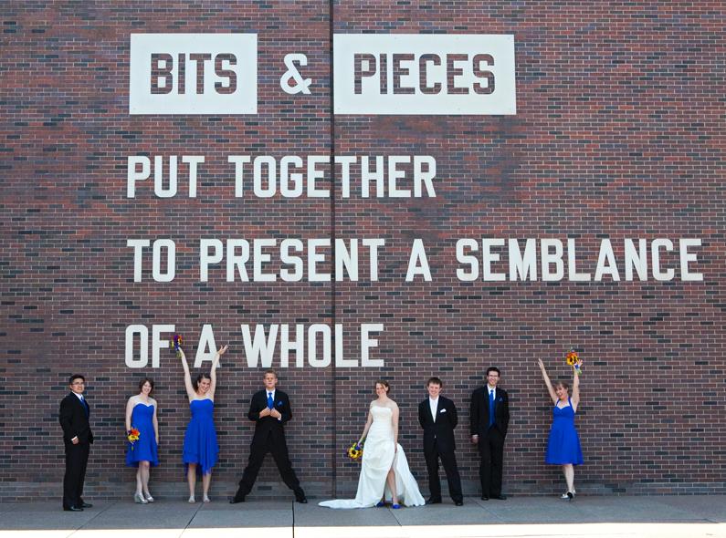 Wedding Walker Art Center Minneapolis MN