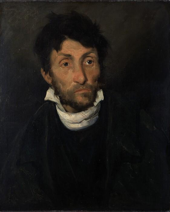 Théodore Géricault, « Monomane du vol » (1820 env.)