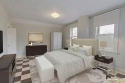 Virtually Staged Master Bedroom - 135 Matilda