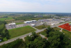 aerial value village to 16th