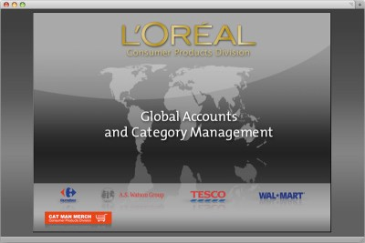 L'Oréal Global Accounts - Intranet - Développement BrainSoft