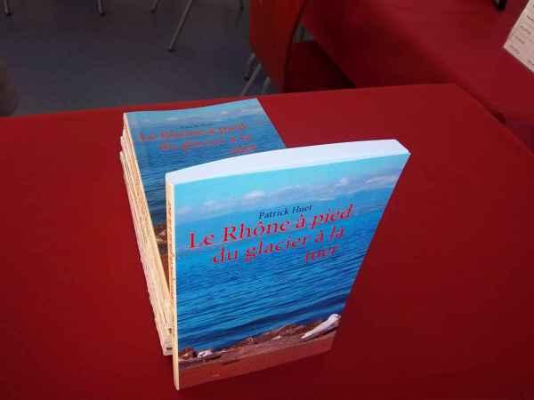 Le Rhône à pied au Salon du livre