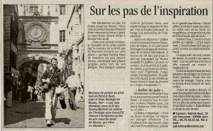 Paris Normandie La Seine à pied Patrick Huet