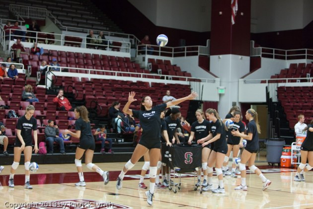 Girls Volleyball,Stanford,Volleyball