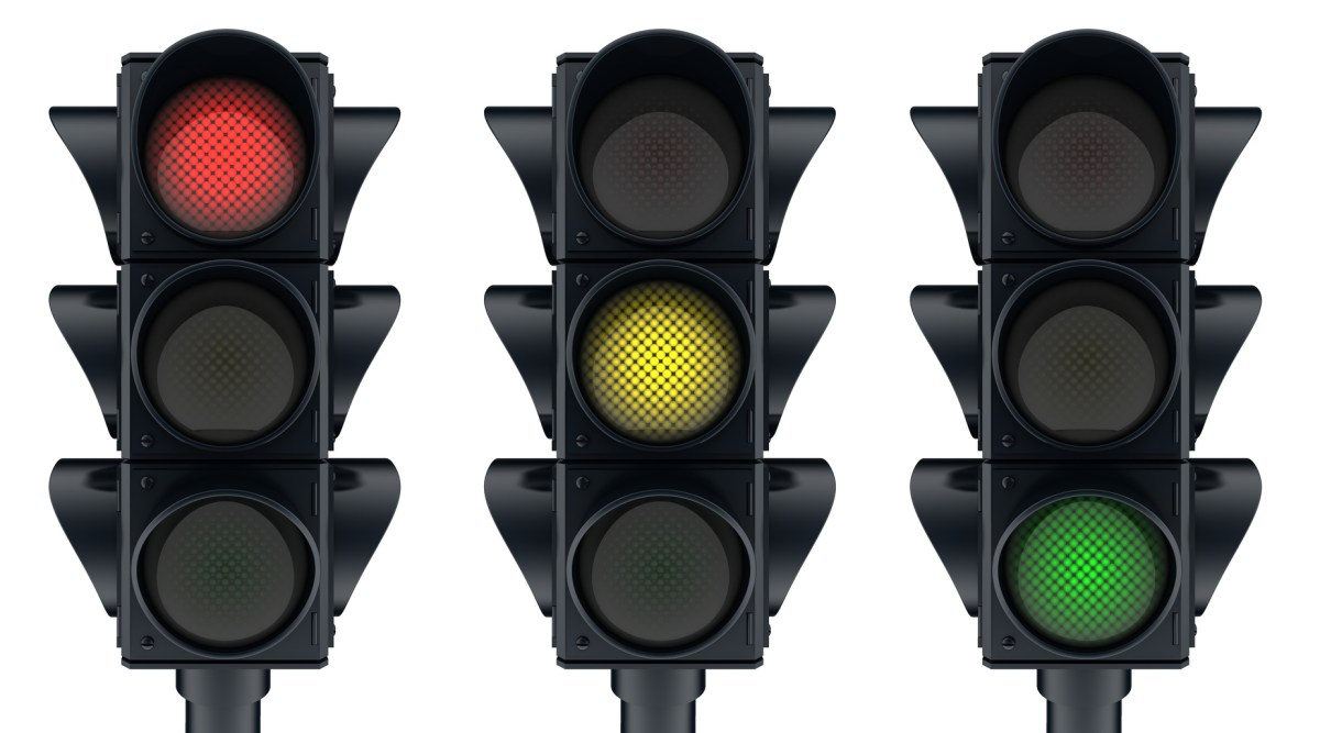 Traffic Lights System for managing interruptions at work