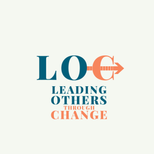 Leading Others through Change Logo